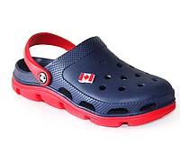 Крокси сині з червоним, фото 1