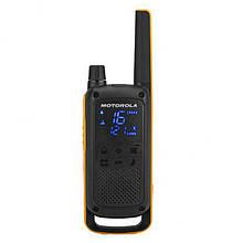 Рація Motorola Talkabout T82 Extreme (0,5 W, PMR446, 446 MHz, до 10км, 16 каналів), 2шт, оранж-чорний