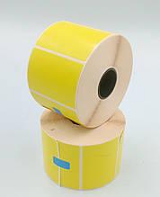 Mobitehnika Термоэтикетка для весов, этикеточных принтеров Т.Еко пантон жёлтая 58*40 1000шт