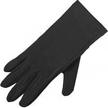 Перчатки шерстяные Lasting Rok, черные (р.S/M)