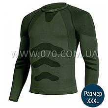Термокофта мужская Lasting Apol (150 г/м2, XXL/XXXL), зеленая