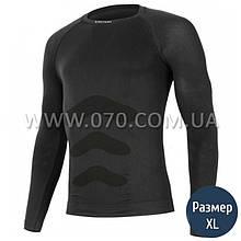 Термокофта мужская Lasting Apol (150 г/м2, L/XL), черная