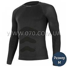 Термокофта мужская Lasting Apol (150 г/м2, S/M), черная