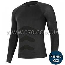 Термокофта мужская Lasting Apol (150 г/м2, XXL/XXXL), черная