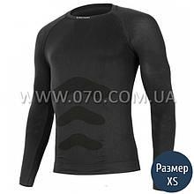 Термокофта мужская Lasting Apol (150 г/м2, XXS/XS), черная
