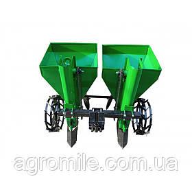 Картоплесаджалка дворядна Володар КСН-110 (110 л, 1 точка, для мототрактора)