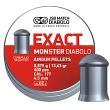 Пули для пневматики JSB Diabolo Exact (4.5мм, 0,87гр, 400шт)