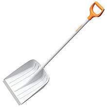 Лопата для уборки снега Fiskars SnowXpert Shovel White (длина: 1475мм, 1400г) 1003605