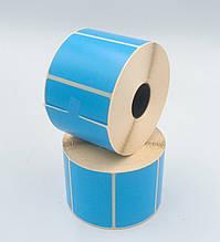 Mobitehnika Термоэтикетка для весов, этикеточных принтеров Т.Еко пантон синяя 58*40 1000шт