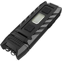 Ліхтар наключный багатофункціональний Nitecore THUMB (2xLED+2хRED, 85 люмен, 6 режимів, USB)