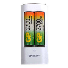 Зарядное устройство GP U211 + 2 аккумулятора (2700mAh)