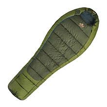 Мешок спальный Pinguin Comfort 195 L (195x85x55см), зеленый 2113.195