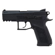 Пістолет пневматичний ASG CZ 75 P-07 (4,5 mm), чорний