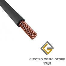 Електричний дріт ЗЗЦМ ПВ-3 4.0 Чорний