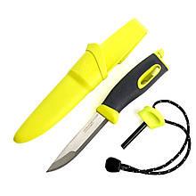 2 в 1 - Нож + огниво LIGHT MY FIRE FireKnife (22.5х4.5х4.5см), лайм