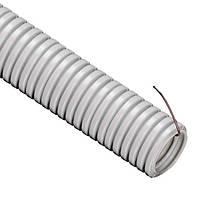 Труба гофрована ПВХ НГ Ø 20мм 1м