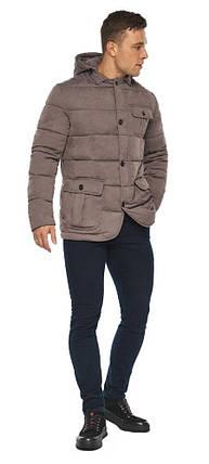 Куртка – воздуховик на зиму мужской ореховый модель 35230, фото 2