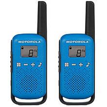Рація Motorola Talkabout T42 TWIN PACK, синя