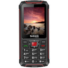 Sigma mobile Comfort 50 Outdoor Black/Red