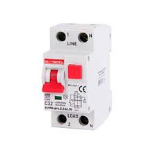 Диференціальний автомат E. NEXT e.rcbo.pro 1P+N 32А 6кА тип С