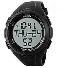 Часы, фитнес-трекер Skmei 1122, черные. в металлическом боксе