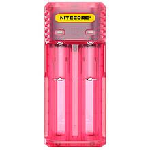 Зарядное устройство Nitecore Q2 (2 канала), розовое