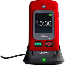 Sigma mobile Comfort 50 Shell DUO Black-Red, фото 3
