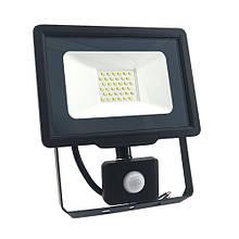 Прожектор LED BIOM S5 30W 6200К с датчиком