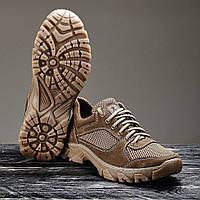 """Кросівки тактичні """"Шершень"""" Коричневі літні, 36-46 розміри"""