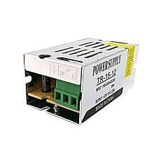 Блок живлення BIOM TR-15 15Вт 12В 1.25 А Метал IP20 Стандарт