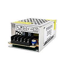 Блок живлення BIOM TR-60 60Вт 12В 5А Метал IP20 Стандарт