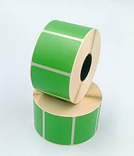 Mobitehnika Термоэтикетка для весов, этикеточных принтеров Т.Еко пантон зелёная 40*25 1000шт вт. 25мм