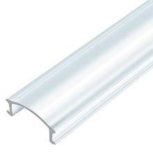 Прозорий розсіювач BIOM LC-U для алюмінієвого профілю ЛП-7 1м