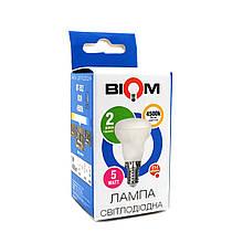 Світлодіодна лампа BIOM BT-552 R39 5W E14 4500K (Рефлектор)
