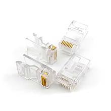 З'єднувач RJ45 8Р8С для UTP stranded, solid сat5/сat5e кабелю