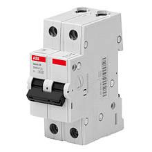 Автоматичний вимикач ABB BMS412C63 2P 63A 4.5 kA