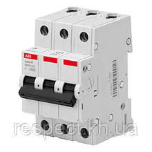Автоматичний вимикач ABB BMS413C40 3P 40A 4.5 kA