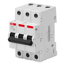 Автоматичний вимикач ABB BMS413C50 3P 50A 4.5 kA