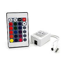 Контроллер BIOM 6А IR кнопочный 12В RGB