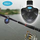 Электронный светозвуковой сигнализатор поклевки YOLO. Свингер, фото 8