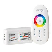 Контролер BIOM 24А RF сенсорний Білий 12В RGB+W