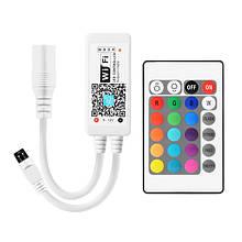 Контролер BIOM 8А Wi-Fi + IR кнопковий 12В RGB+W