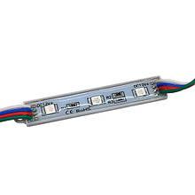 LED модуль BIOM SMD5050 0.72 Вт RGB 12В, IP65 без лінзи