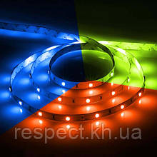 Світлодіодна стрічка PROLUM SMD5050-30 IP20 Стандарт RGB 1м