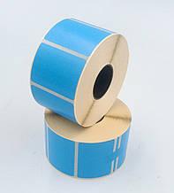 Mobitehnika Термоэтикетка для весов, этикеточных принтеров Т.Еко пантон синяя 40*30 1000шт вт. 25мм