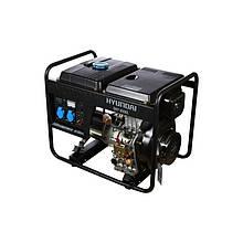 Генератор дизельный HYUNDAI DHY 6500L 5500 Вт