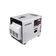 Генератор дизельний HYUNDAI DHY 6000SE-3 5000 Вт