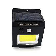 LED світильник на сонячній батареї VARGO 5W c датчиком
