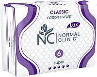 Прокладки Normal Clinic Classic Cotton 5крапель 6шт (1/1)