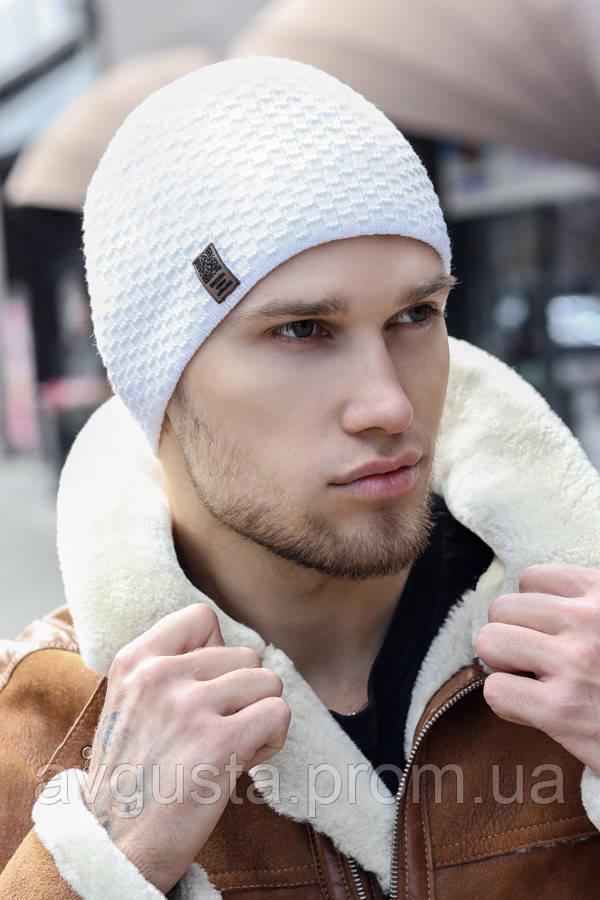 Чоловіча шапка «Этро» (білий)